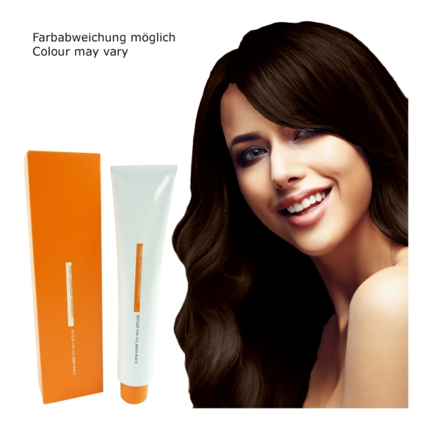 Z.ONE Color The New Attitude Haar Farbe - 100ml - permanent Coloration Creme - 5.4 Copper Light Brown