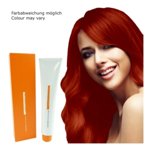 Z.ONE Color The New Attitude Haar Farbe - 100ml - permanent Coloration Creme - 7.44 Intense Copper Medium Blonde