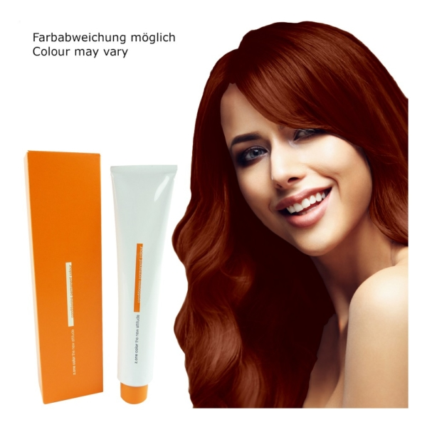 Z.ONE Color The New Attitude Haar Farbe - 100ml - permanent Coloration Creme - 8.44 Intense Copper Light Blonde