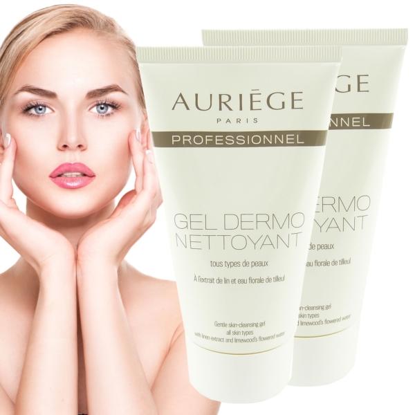 Auriege Paris Gel Dermo Nettoyant - Gesicht Reinigung Haut - MULTIPACK 2x150ml