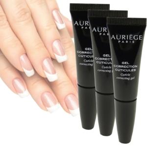 Auriege Paris Nagel Haut Korrektur Gel Hand Pflege Maniküre - MULTIPACK 3x5ml