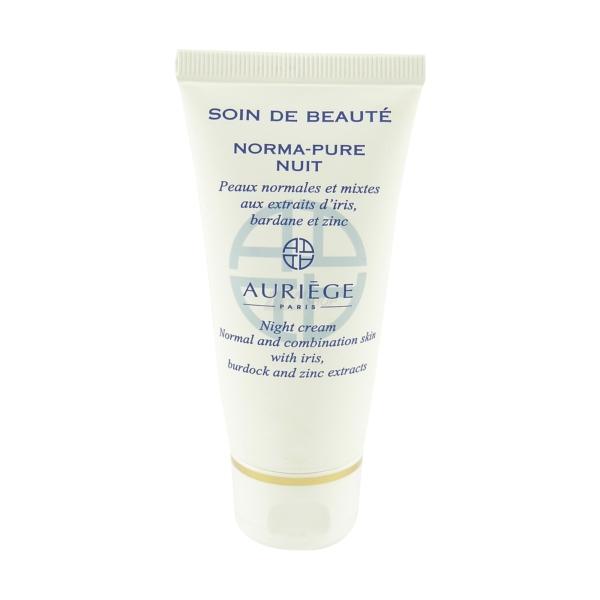 Auriege Paris - Norma Pure - Zink Nacht Creme Haut Pflege - MULTIPACK 2x50ml