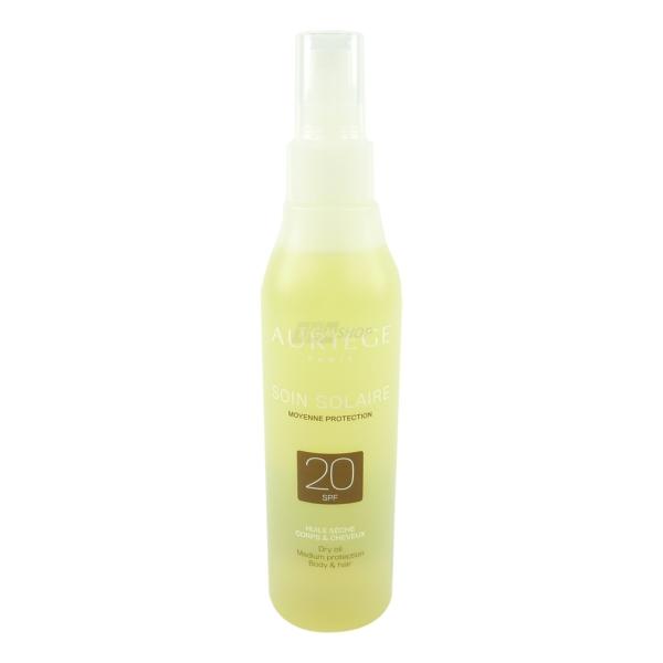 Auriege Paris Sonnen Schutz SPF20 Trocken Öl Körper + Haar - MULTIPACK 2x200ml
