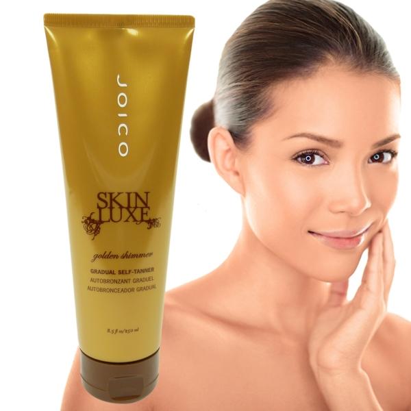 Joico SKIN LUXE Golden Shimmer Self Tanner - Selbst Bräunungs Lotion - 2 x 250 ml