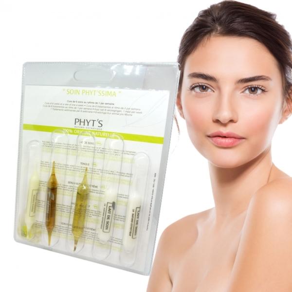 PHYT´S - Soin Phyt'ssima - 5 Ampullen - Pflege Kur - trockene Haut - Gesicht