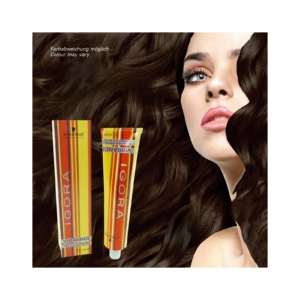 Schwarzkopf Igora Vibrance Tone-on-Tone - Creme Haar Farbe Coloration - 60ml - 6-05 Dunkelblond Natur Gold
