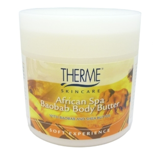 Therme Skincare African Spa Baobab Body Butter - Körper Haut Pflege Creme 250g
