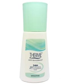 Therme Skincare Anti Transpirant 24h Dry + Sensitive - Deodorant Deo Roller 60ml