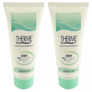 Therme Skincare Anti Transpirant 24h Dry + Sensitive Creme Deo Multipack 2x60ml