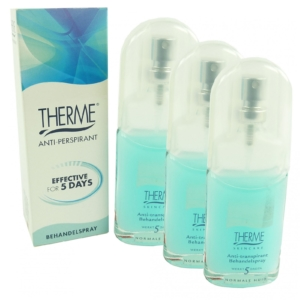 Therme Skincare Anti Transpirant 5 Days - Deodorant Spray - Multipack 3x25ml