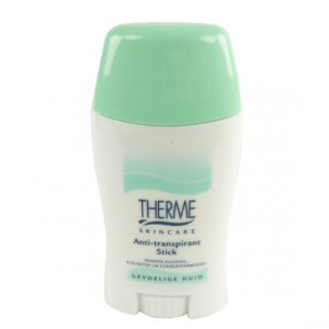 Therme Skincare Anti Transpirant Stick - Deodorant Deo ohne Alkohol unisex - 50g