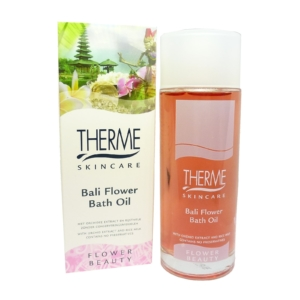 Therme Skincare Bali Flower Bath Oil - Bade Öl Körper Haut Pflege - 100ml