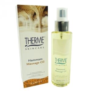 Therme Skincare Hammam Massage Öl - Aroma Körper Haut Pflege Wellness - 125ml