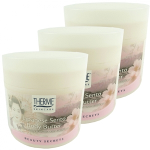 Therme Skincare Japanese Sento Body Butter - Haut Pflege Creme MULTIPACK 3x250g