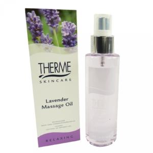 Therme Skincare Lavender Massage Öl - Aroma Körper Haut Pflege Wellness 125ml