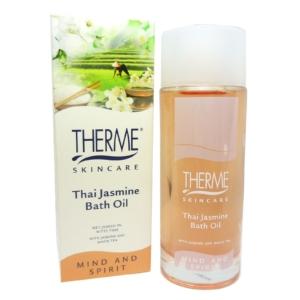 Therme Skincare Thai Jasmine Bath Oil 100ml - Bade Öl Körper Body Haut Pflege