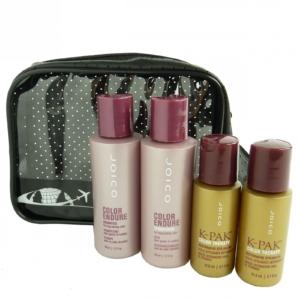 JOICO Reise Pflege Set coloriertes Haar Shampoo Conditioner Styling Öl