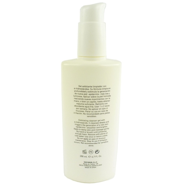 Skeyndor Derma Peel Pro Resurfacing Peel Cleansing Gel Gesicht Peeling 200ml