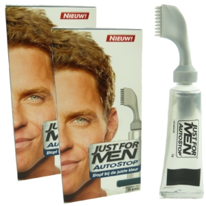2x Just for Men Autostop A25 Blond - Herren Haar Farbe Coloration Colour 70g