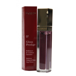 Clarins Paris Gloss Prodige Lip Gloss - Lippen Farbe Make up Hyaluron - 6ml - 07 blackberry