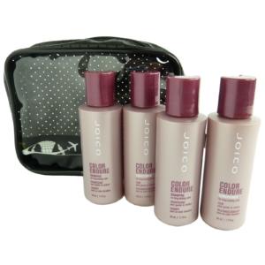 JOICO Reise Pflege Set - Coloriertes Haar - Shampoo Conditioner Spülung - 5tlg