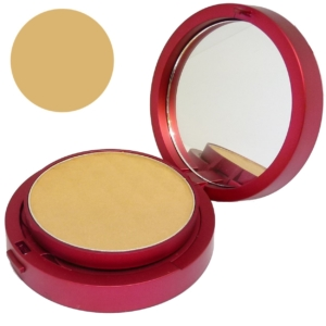 Matis Radiance Pressed Powder Dark Beige Kompakt Puder Teint Gesicht Make Up 10g