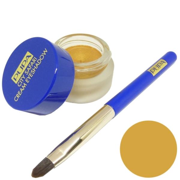 Pupa City Safari Cream Eyeshadow 001 Gold Augen Creme Lidschatten Make Up 4g
