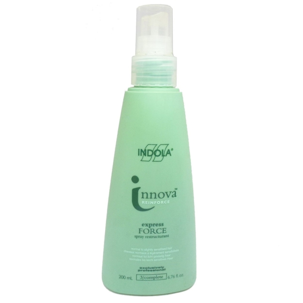 Indola Innova Reinforce Express Force Spray Restructurant Haar Pflege - 200ml