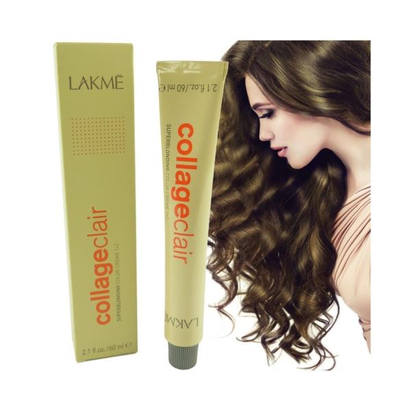 Lakme Collage Clair Superblonding Colororation Haar Farbe Versch Nuancen 60ml - 12/63 Super blonde gold chestnut blonde/Super Blond Gold Kastanien Blond
