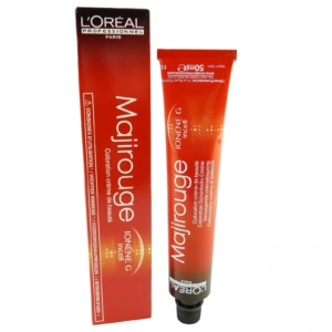 Loreal Majirouge Creme Coloration 50ml - Haar Farbe Pflege Styling Färbe Mittel - 07.61 Mittelblond Rot Asch