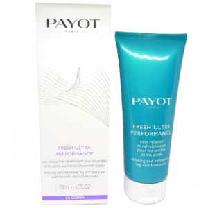 Payot Fresh Ultra Performance Leg + Foot Care Füße u. Beine Pflege Creme 200ml