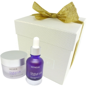 Skeyndor Global Lift Anti-Aging Geschenk Set Gesicht Haut Pflege gegen Falten