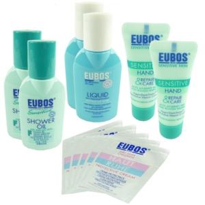 Eubos Familien Haut Pflege Set 11 Teilig - Hand Creme Körper Emulsion Dusch Öl