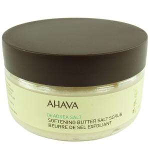 AHAVA Dead Sea Salt Softening Butter Salt Scrup 220g Körper Haut Peeling Pflege