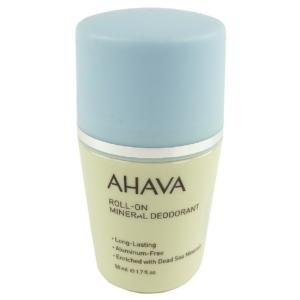 AHAVA Roll On Mineral Deodorant Dead Sea Water 50ml Deo Pflege ohne Aluminium