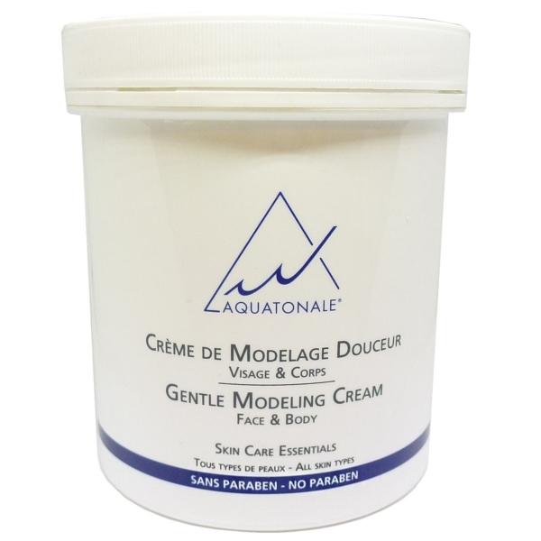 Aquatonale Gentle Modeling Cream Face + Body Massage Haut Pflege Creme 500ml