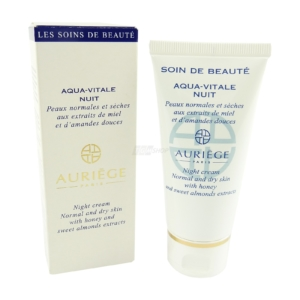 Auriege Paris Aqua Vitale Nuit - 50ml - Nacht Creme normale trockene Haut Pflege