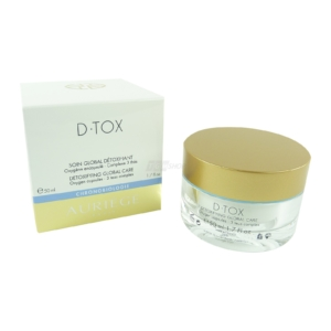 Auriege Paris D.Tox - Entgiftende Global Pflege Anti Aging Haut Creme - 50ml