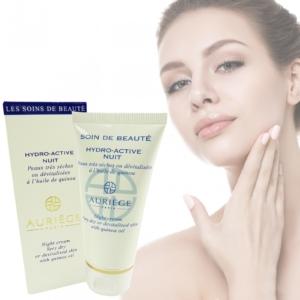 Auriege Paris - Hydro-Active - Nacht Creme sehr trockene Haut Quinoa Öl - 50ml