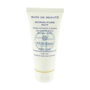 Auriege Paris Norma Pure - Zink Nacht Creme Pflege normale + Misch Haut - 50ml