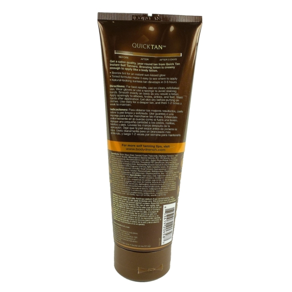 Body Drench Quick Tan Bronzing Lotion Medium Dark Körper Bräunung Creme Lotion - 1x236ml