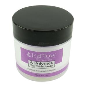 EzFlow A-Polymer TRULY WHITE Acryl Pulver Maniküre Nagel Pflege weiß 28g