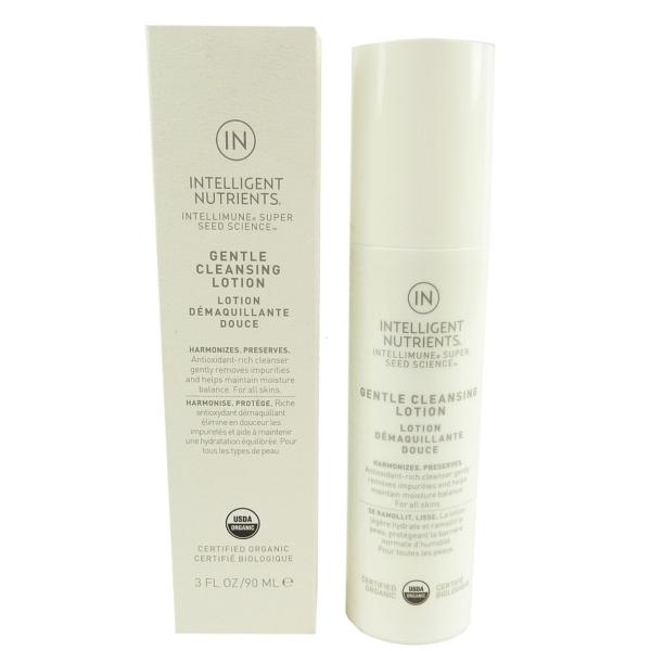 Intelligent Nutrients Gentle Cleansing Lotion 90ml Gesicht Pflege Reinigung