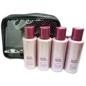 JOICO 5-tlg Haar Pflege Conditioner Reise Set - Spülung für Coloriertes Haar