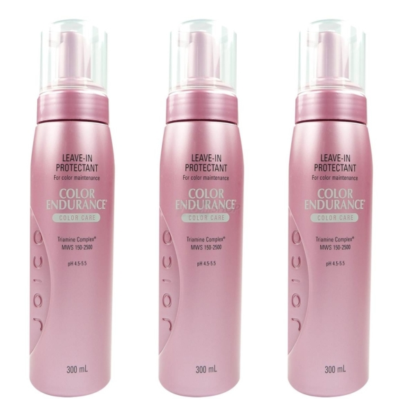 Joico Color Endurance Leave In Protectant Conditioner - gefärbtes Haar Pflege - 3 x 300 ml