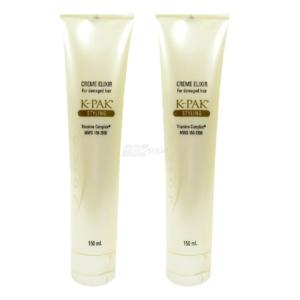 Joico K-Pak Styling Creme Elixir - strapaziertes krauses Haar Pflege Hair Care - 2 x 150 ml