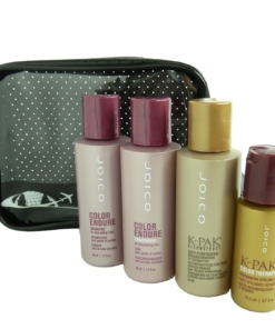 JOICO 5-teiliges Coloriertes Haar Pflege Reise Set - Shampoo Conditioner Öl Kur