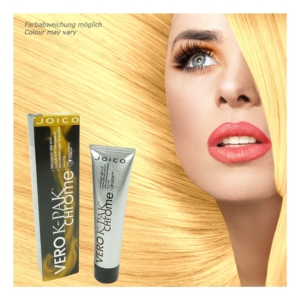 Joico Vero K-PAK Chrome Demi Permanent Color G9 Spun Gold Haar Farbe - 2x60ml