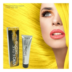 Joico Vero K-PAK Chrome Demi Permanent RY Really Yellow Haar Farbe - 2x60ml