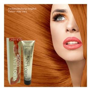Joico Vero K-Pak Permanent Haar Farbe Creme Coloration 74ml Nuancen zur Auswahl - 8RG Medium Red Gold